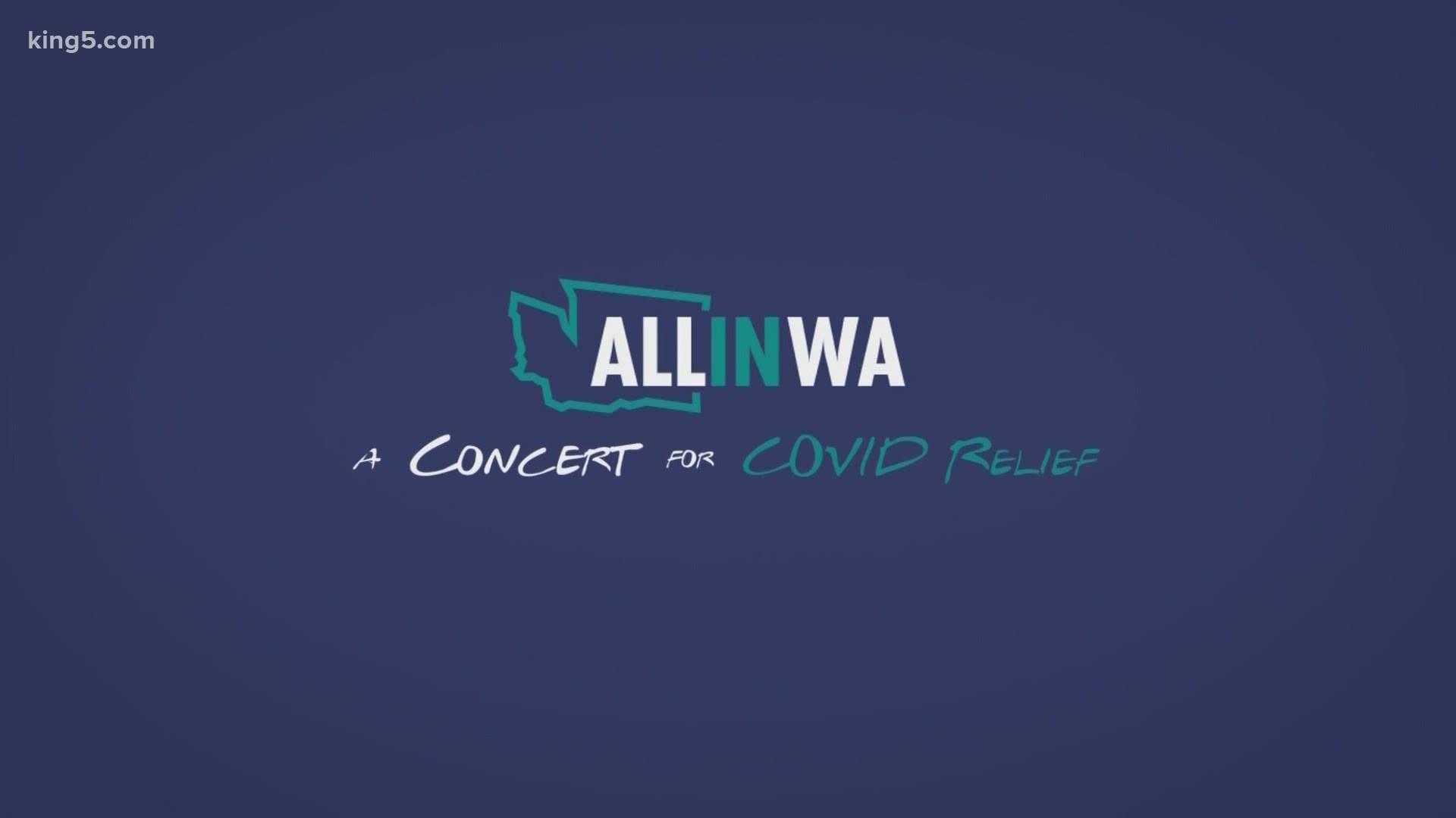 Relief concert to help dozens of Washington groups in coronavirus ...
