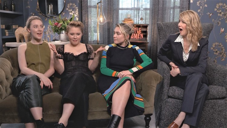 Saoirse Ronan, Eliza Scanlen, Florence Pugh and Laura Dern