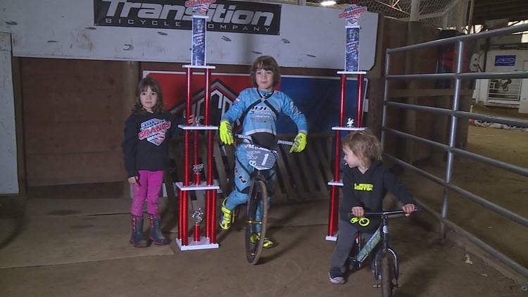 Eleanor, Wyatt and Warren Christensen