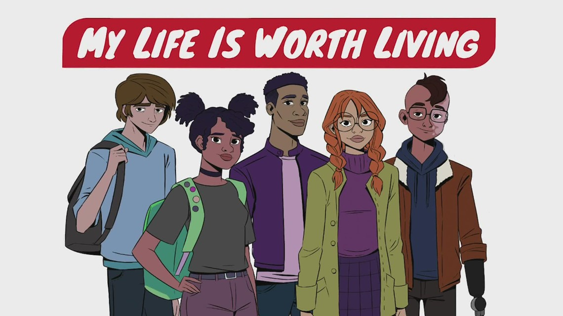 Snohomish animator creates new series aimed at teen suicide prevention