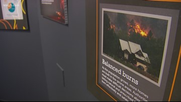 Pacific Science Center unveils new wildfire exhibit