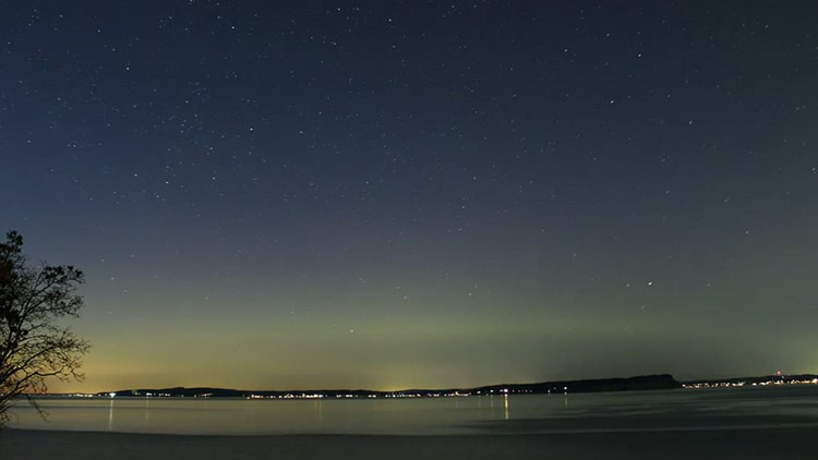 Northern Lights spotted over western Washington