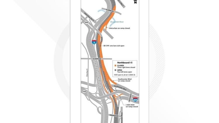 I-5 closure 9-28-19