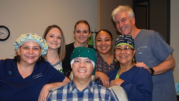 Operation Restore helps patients suffering from trauma and disease fight hair loss