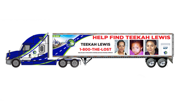 Image of missing Tacoma woman will appear on semi-trailers years after disappearance