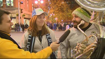 Sounders fans have playoff excitement