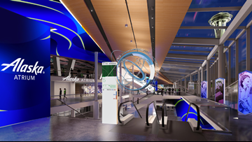 Alaska Airlines announces partnership with NHL Seattle and naming rights to atrium at new arena