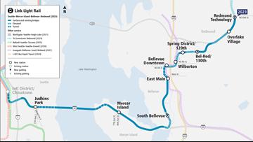 King 5 Traffic Map.Sound Transit Explains Why It Takes So Long To Build Light Rail