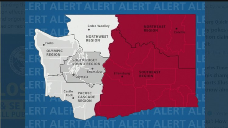 Public lands in eastern Washington closing Friday due to wildfire danger