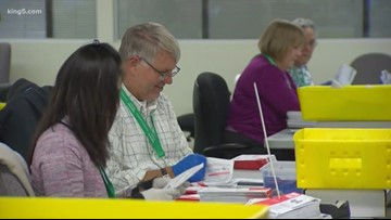 Hand recount ordered in some King County elections