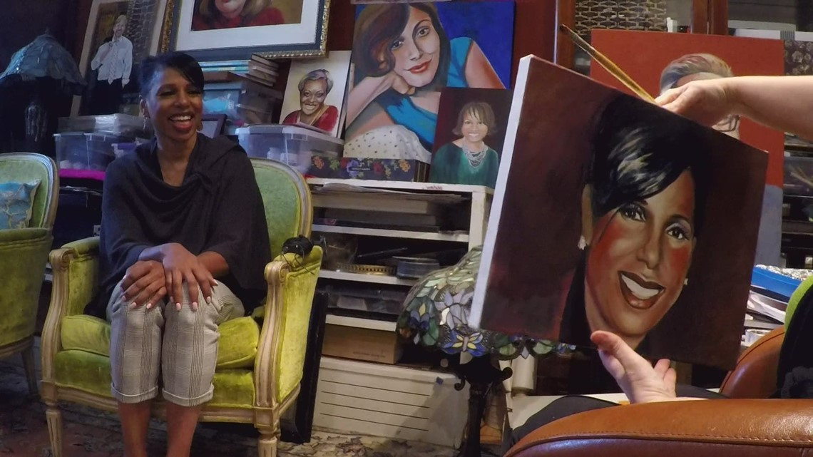 Seattle artist launches 'Women of Color' series with portrait of Carmen Best
