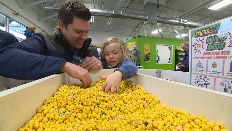 Recycled LEGO bricks get new life at Snohomish County shop