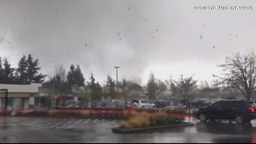 Officials will survey tornado damage in Kitsap County Wednesday morning