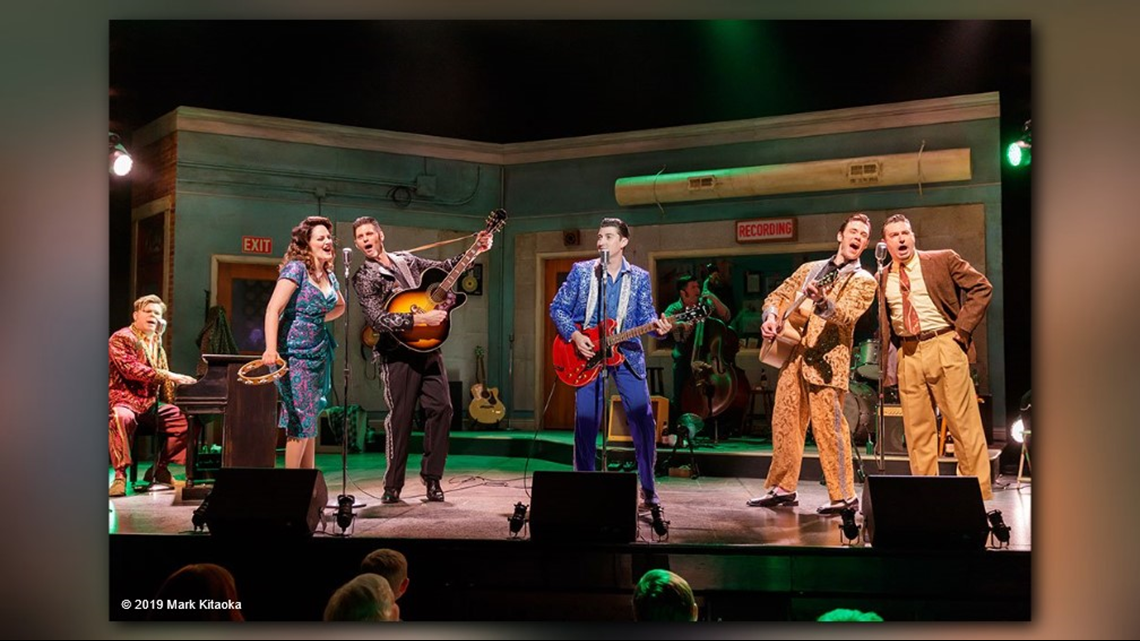 Village Theater's 'Million Dollar Quartet' brings musical icons back to life