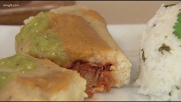 These organic tamales in Everett are so delicious they sell out every day - KING 5 Evening