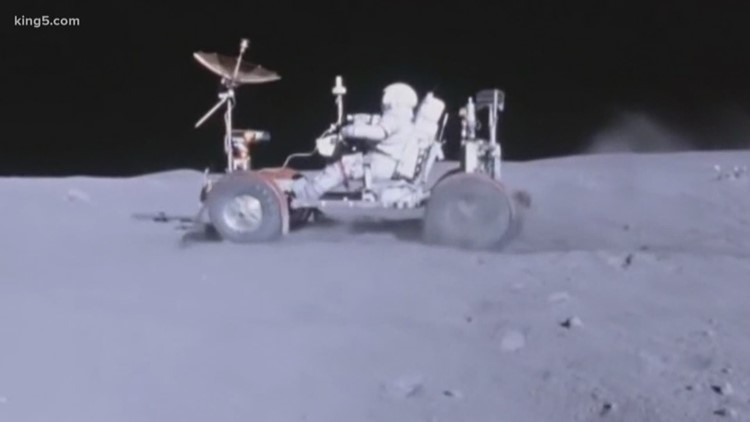 Kent engineers helped craft lunar rovers during Apollo missions