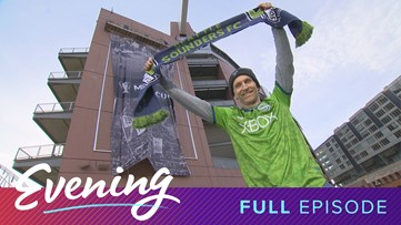 Fri 11/8, CenturyLink Field in Seattle, Full Episode, KING 5 Evening