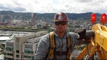 Ironworker Travis Corbet was Marine veteran from Oregon