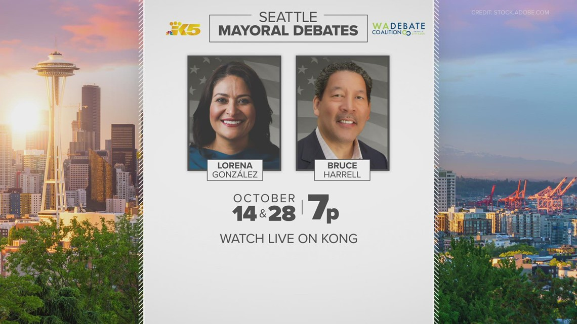 How to watch Thursday's Seattle mayoral debate