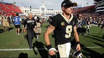AP source: Saints' Brees has torn ligament in thumb, could miss Seahawks game