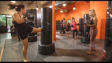 Lose weight and gain confidence through kickboxing