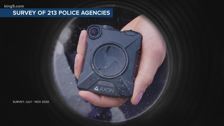 Most Washington law enforcement agencies don't use body or dash cameras, KING 5 investigation finds