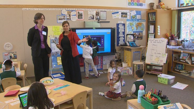 Eastside school's use of technology captures international attention