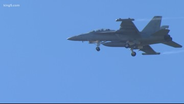 Group wants less noisy Navy jets over Olympic National Park