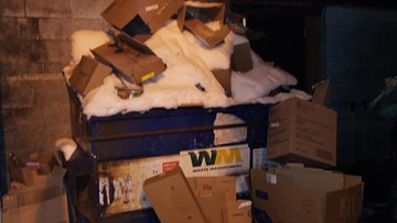 Trash piles up as snow forces pickup cancelations | king5 com