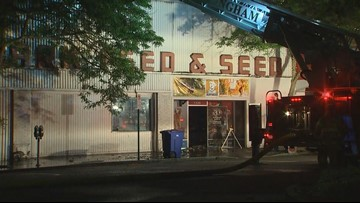 3-alarm fire burns Clark Feed and Seed store in Bellingham
