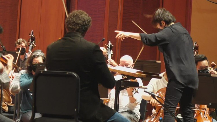 The Seattle Symphony returns to in-person concerts a year and a half after shutdown