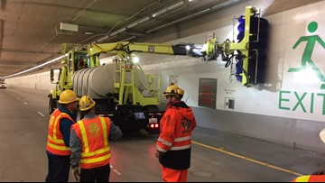 SR 99 northbound tunnel closure and other weekend traffic impacts