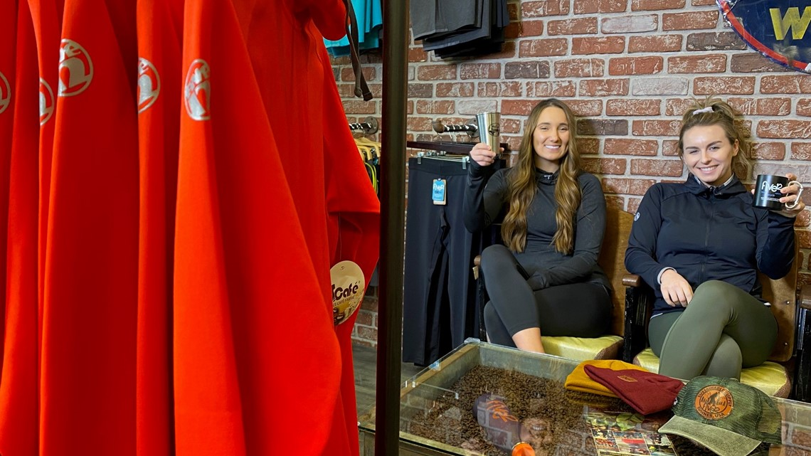 South Sound women make activewear from coffee grounds and plastic bottles
