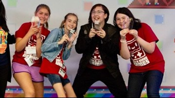 Four Seattle girls win top prize in national video game competition - 12 Under 12 - KING 5 Evening