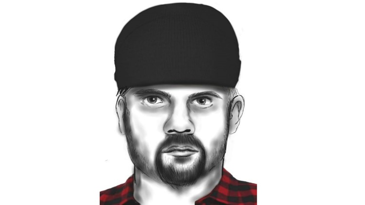 Sketch of person that may know something about shootings on SR 509