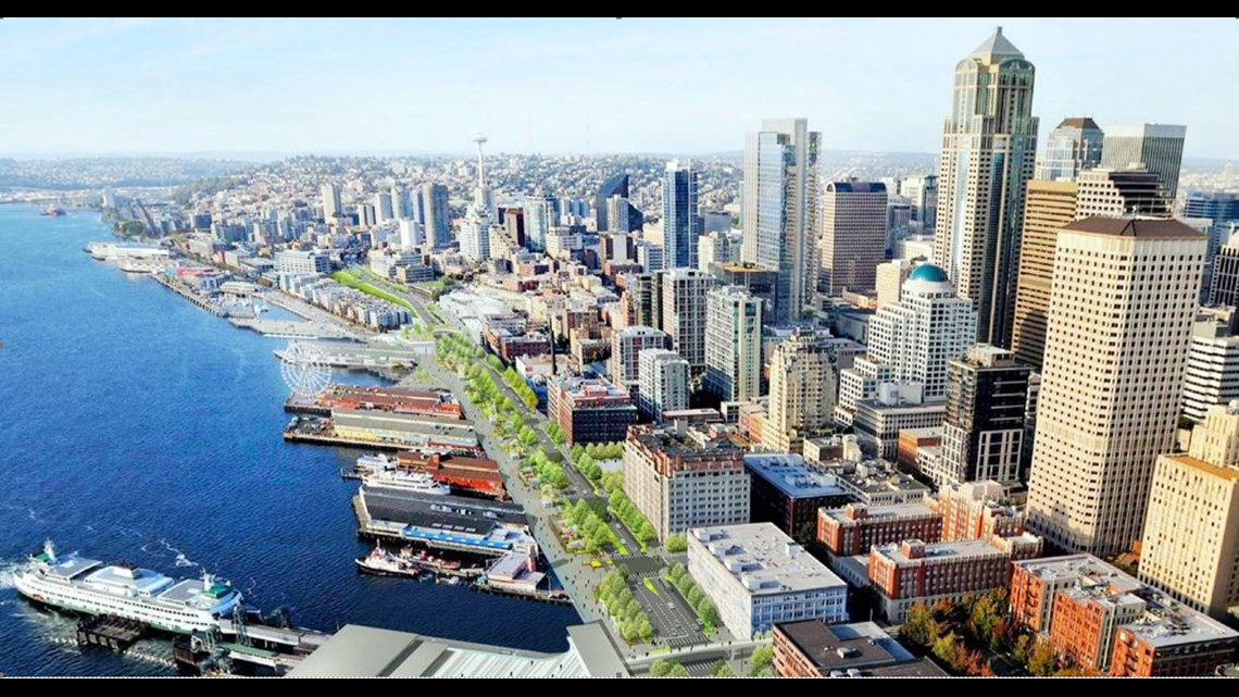 Seattle's Waterfront project moves ahead