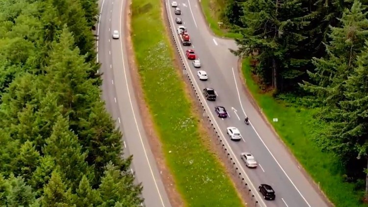 State encouraging Thurston County drivers to properly zipper merge