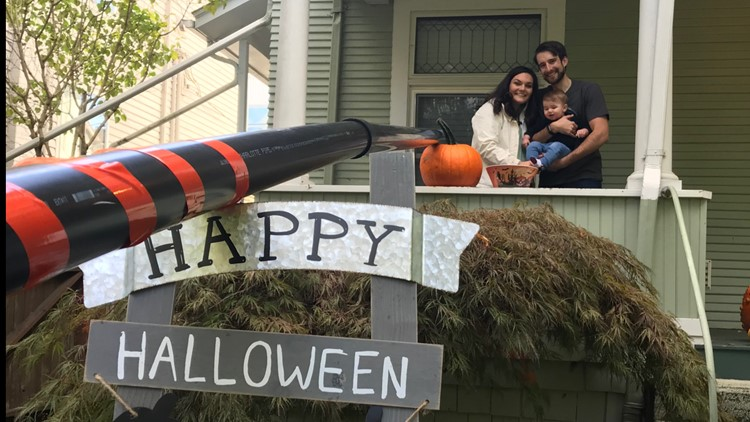 The Seattle socially-distanced Halloween Trick-or-Treat Map delivers safe scares