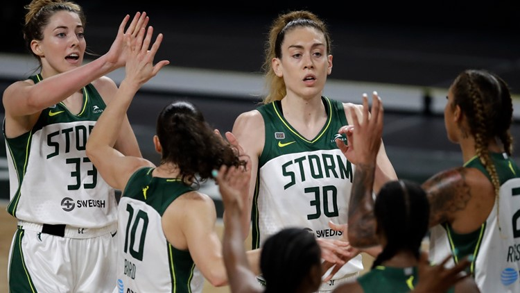 Storm stay unbeaten on road with 86-75 victory over Dream