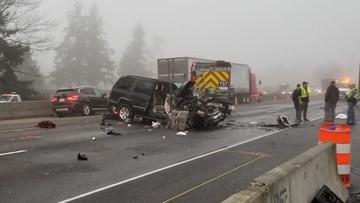 Occupants of fleeing SUV that crashed in Lakewood had outstanding warrants