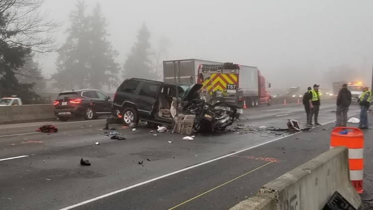 I-5 crash lakewood