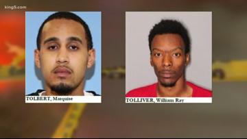Remaining suspects in deadly Seattle shooting have 65 combined arrests