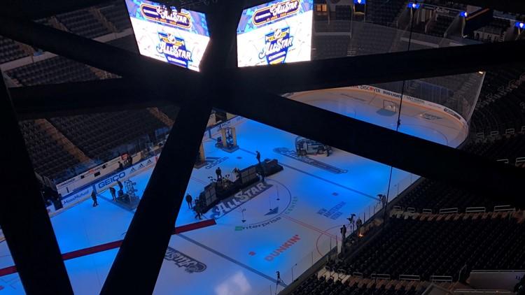 NHL All-Star practice round