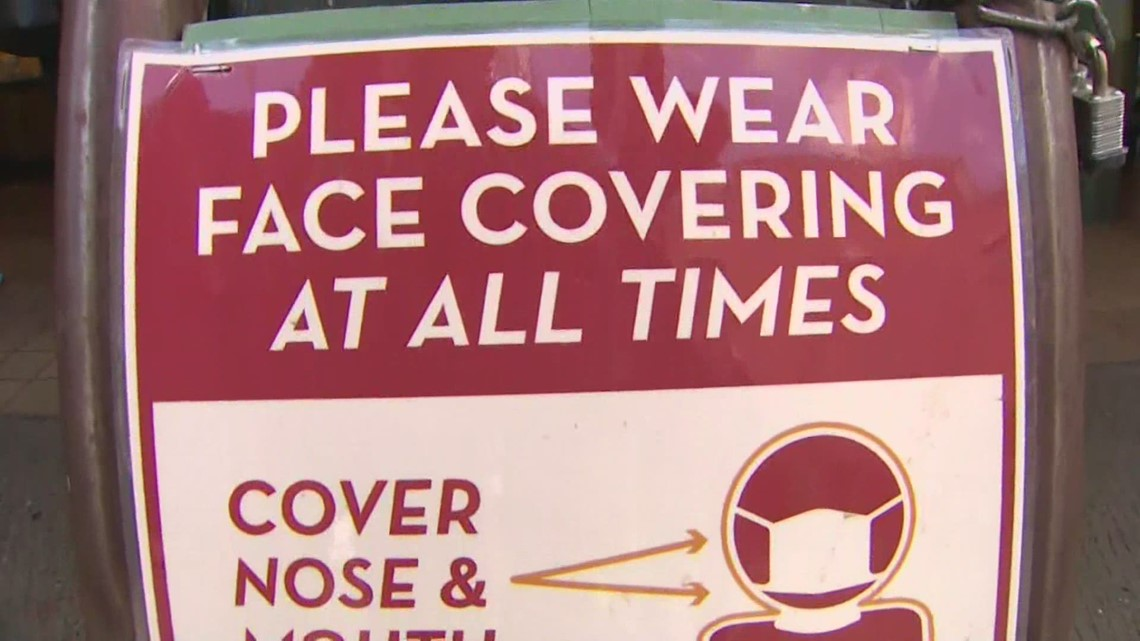 King County health officer recommends people wear masks in indoor public spaces