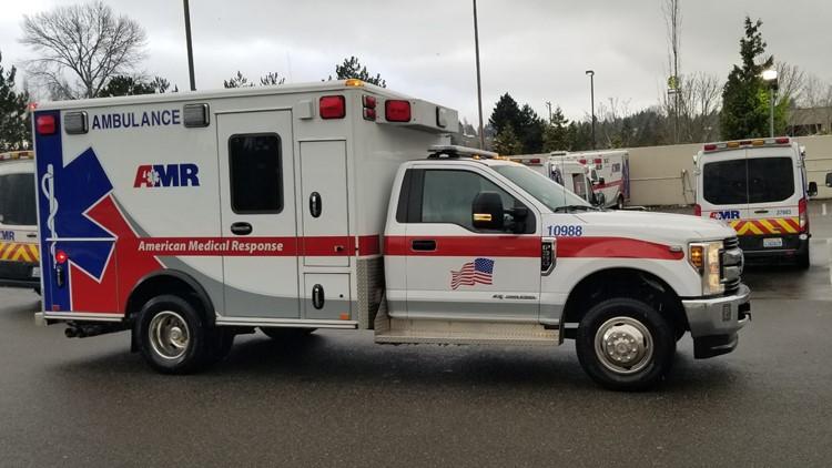 AMR 4WD ambulance