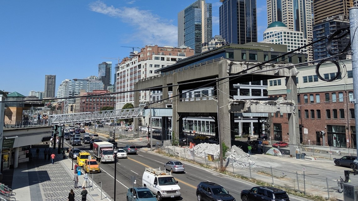 Final double-decker section of viaduct to start coming down Friday