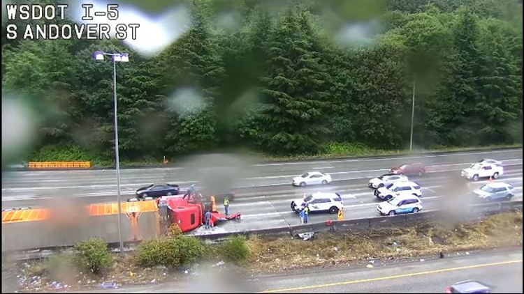 Several incidents snarl Seattle traffic Friday morning