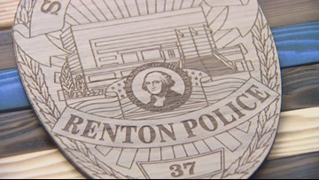 Kent man honors fallen first responders with wooden American flags