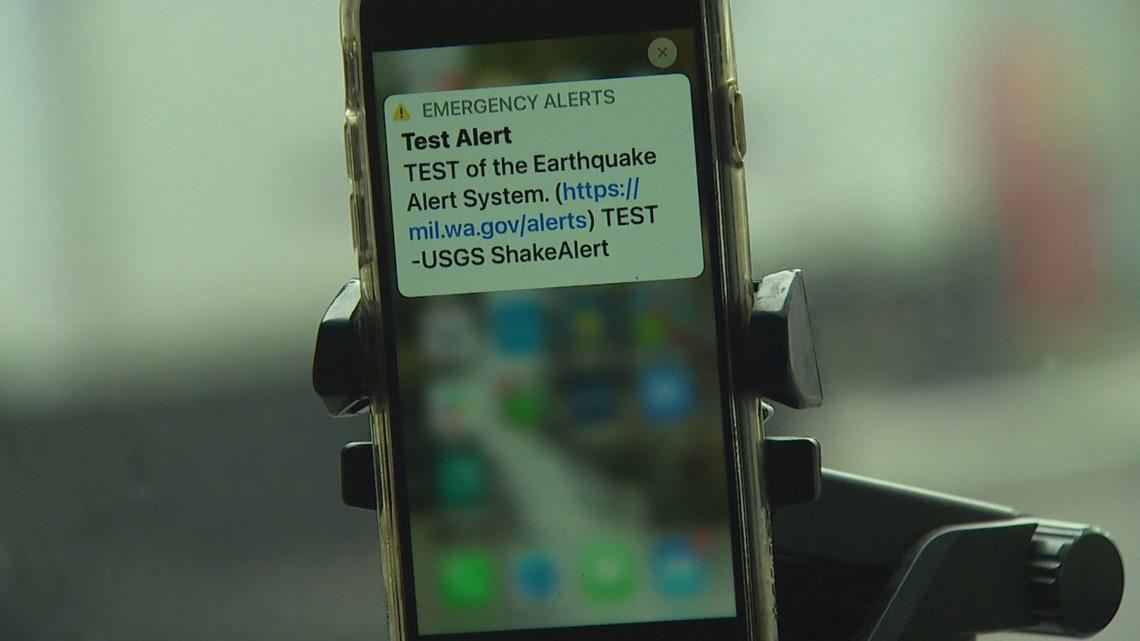 ShakeAlert: Washington tests earthquake early-warning system on Thursday