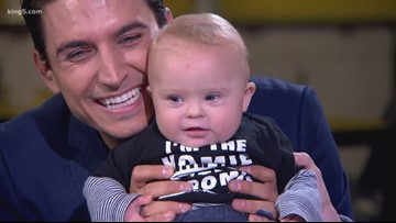 KING 5's Jordan Steele and his wife talk about raising a child with Down syndrome